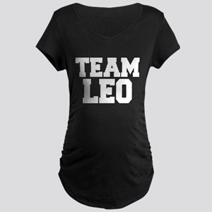 TEAM LEO Maternity Dark T-Shirt