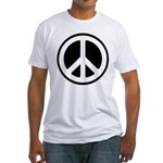 World Peace Fitted T-Shirt