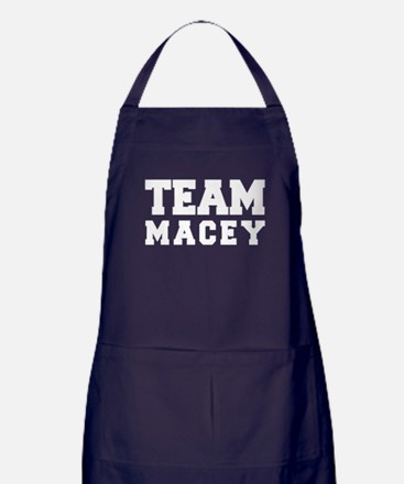 TEAM MACEY Apron (dark)