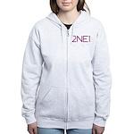 2NE1 Women's Zip Hoodie