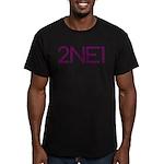 2NE1 Men's Fitted T-Shirt (dark)