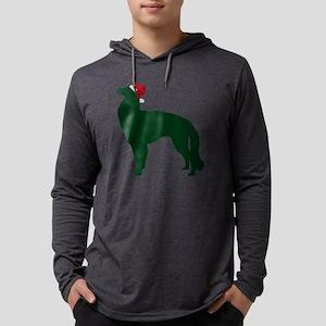 Borzoi23 Mens Hooded Shirt