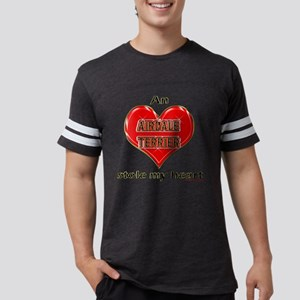 STOLEMYHEART-AirdaleTerrierDar Mens Football Shirt