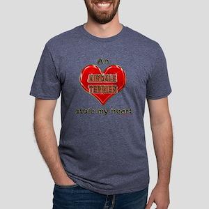 STOLEMYHEART-AirdaleTerrier Mens Tri-blend T-Shirt