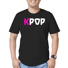 KPOP! Men's Fitted T-Shirt (dark)