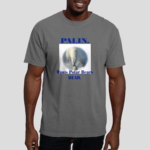 palin. wants polar bears Mens Comfort Colors Shirt
