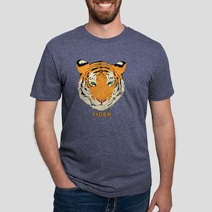tiger2 Mens Tri-blend T-Shirt