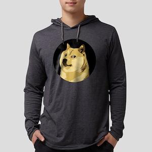 Doge Meme Mens Hooded Shirt