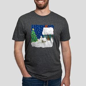 lightsbichons Mens Tri-blend T-Shirt
