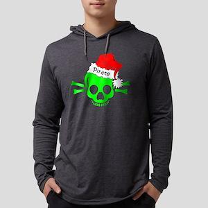 new pirate christmas 1z green bt Mens Hooded Shirt