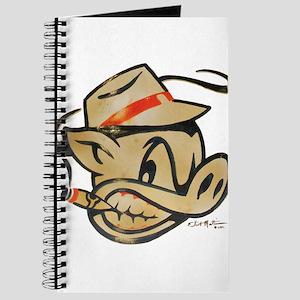 Nicotine Stained Smokin Pig by Elliott Mattice Jou