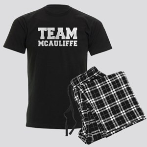 TEAM MCAULIFFE Men's Dark Pajamas