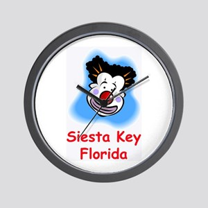 Mophead Siesta Key Wall Clock