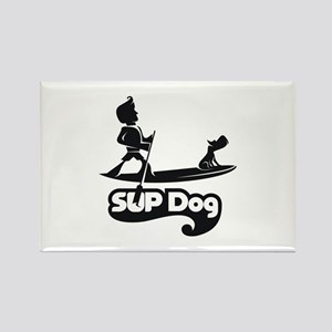 SUP DOG 7 Rectangle Magnet