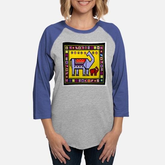 Elephant.png Womens Baseball Tee