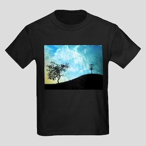 Basket On A Hill #2 Kids Dark T-Shirt