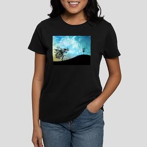 Basket On A Hill #2 Women's Dark T-Shirt