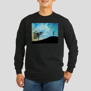 Basket On A Hill #2 Long Sleeve Dark T-Shirt