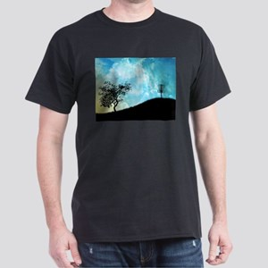 Basket On A Hill #2 Dark T-Shirt
