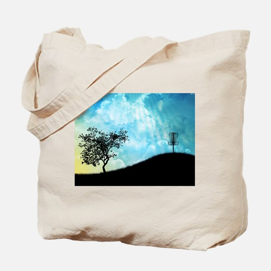 Basket On A Hill #2 Tote Bag
