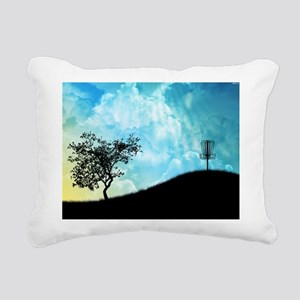 Basket On A Hill #2 Rectangular Canvas Pillow
