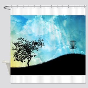 Basket On A Hill 2 Shower Curtain