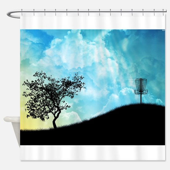 Basket On A Hill #2 Shower Curtain