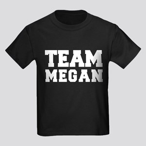 TEAM MEGAN Kids Dark T-Shirt