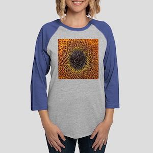 sunflowerpillow Womens Baseball Tee