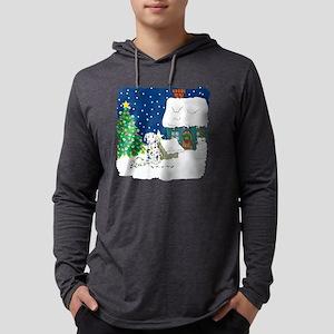lightsdalmations Mens Hooded Shirt