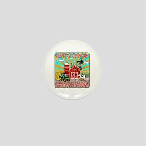The Farm Mini Button