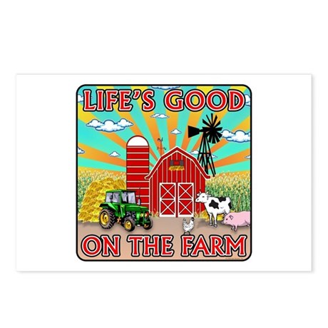 The Farm Postcards (Package of 8)