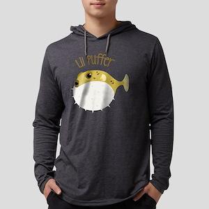 Lil Puffer Mens Hooded Shirt