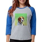 beagle_keepsake.png Womens Baseball Tee