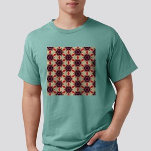 Vintage Floral Abstract Mens Comfort Colors Shirt