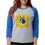 boston_tile.png Womens Baseball Tee