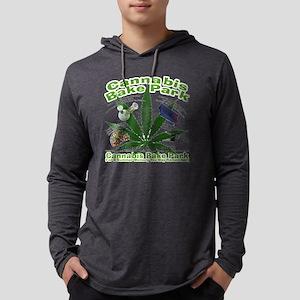 Cannabis Bake Park Mens Hooded Shirt