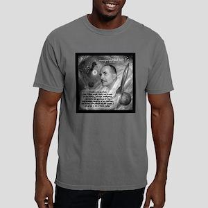 Heinlein Believe Quote 2 Mens Comfort Colors Shirt