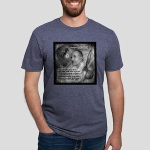 Heinlein Believe Quote 2 Mens Tri-blend T-Shirt
