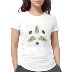 Feathered Greenery Women's Deluxe T-Shirt