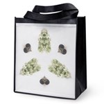 Feathered Greenery Reusable Grocery Bag