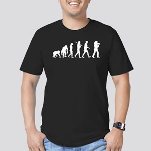 Cameraman Cinematographer Men's Fitted T-Shirt (da