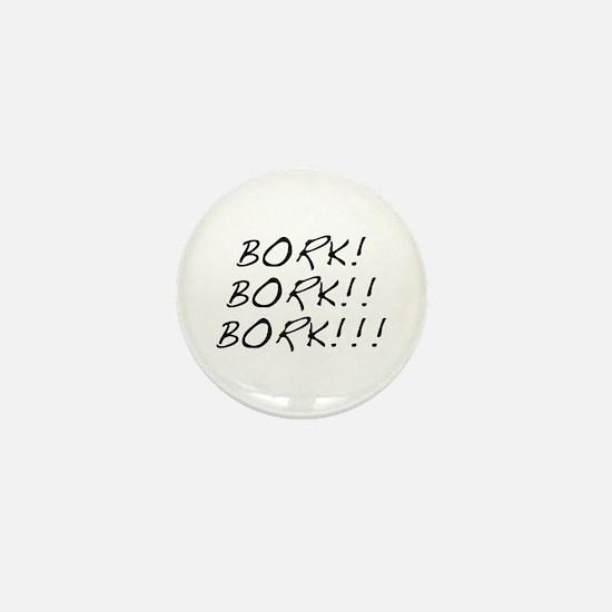 Bork! Mini Button
