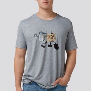 Watering Can Tools Crate Mens Tri-blend T-Shirt