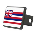 Flag of Hawaii Rectangular Hitch Cover