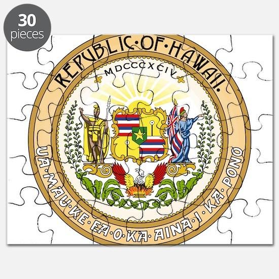 Seal of Hawaii 1894-1898 Puzzle