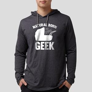 StrollerNaturalBornGeek1B Mens Hooded Shirt