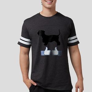 Cesky-Terrier07 Mens Football Shirt