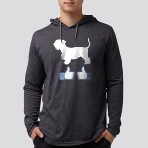 Cesky-Terrier08 Mens Hooded Shirt