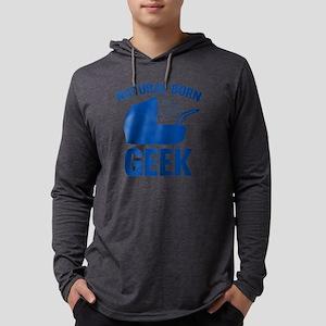 StrollerNaturalBornGeek1D Mens Hooded Shirt